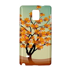 Branches Field Flora Forest Fruits Samsung Galaxy Note 4 Hardshell Case