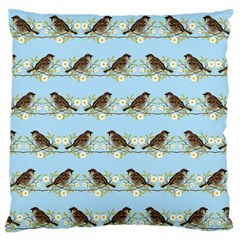 Sparrows Standard Flano Cushion Case (one Side)