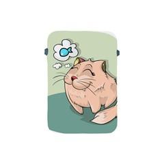 Cat Animal Fish Thinking Cute Pet Apple Ipad Mini Protective Soft Cases