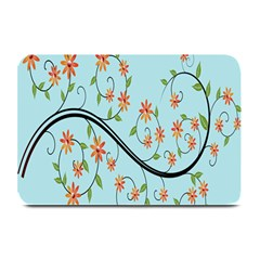 Branch Floral Flourish Flower Plate Mats