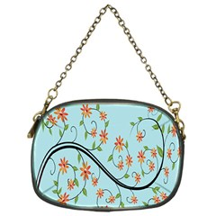 Branch Floral Flourish Flower Chain Purses (one Side)