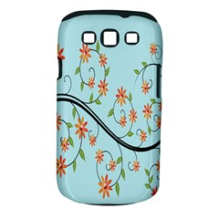 Branch Floral Flourish Flower Samsung Galaxy S Iii Classic Hardshell Case (pc+silicone)