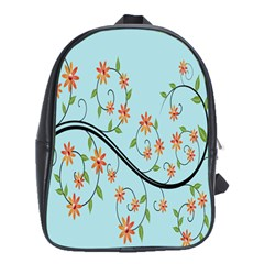 Branch Floral Flourish Flower School Bags (xl)