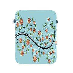 Branch Floral Flourish Flower Apple Ipad 2/3/4 Protective Soft Cases