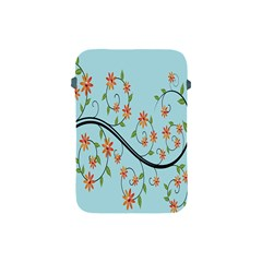 Branch Floral Flourish Flower Apple Ipad Mini Protective Soft Cases