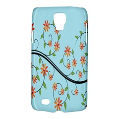 Branch Floral Flourish Flower Galaxy S4 Active