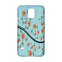 Branch Floral Flourish Flower Samsung Galaxy S5 Hardshell Case