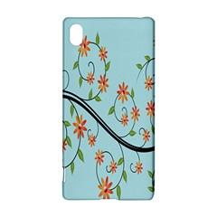 Branch Floral Flourish Flower Sony Xperia Z3+