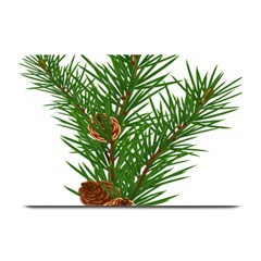 Branch Floral Green Nature Pine Plate Mats