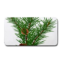 Branch Floral Green Nature Pine Medium Bar Mats