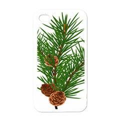Branch Floral Green Nature Pine Apple Iphone 4 Case (white)