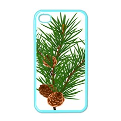 Branch Floral Green Nature Pine Apple Iphone 4 Case (color)