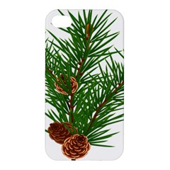 Branch Floral Green Nature Pine Apple Iphone 4/4s Premium Hardshell Case