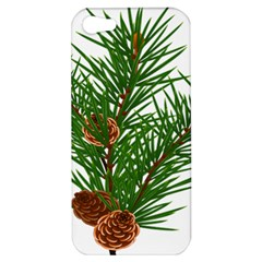 Branch Floral Green Nature Pine Apple Iphone 5 Hardshell Case
