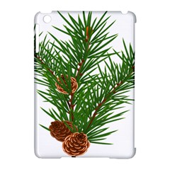 Branch Floral Green Nature Pine Apple Ipad Mini Hardshell Case (compatible With Smart Cover)