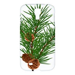 Branch Floral Green Nature Pine Samsung Galaxy S4 I9500/i9505 Hardshell Case