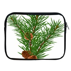 Branch Floral Green Nature Pine Apple Ipad 2/3/4 Zipper Cases