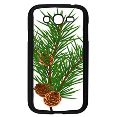 Branch Floral Green Nature Pine Samsung Galaxy Grand Duos I9082 Case (black)