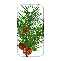 Branch Floral Green Nature Pine Samsung Galaxy S4 I9500/i9505  Hardshell Back Case