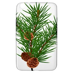 Branch Floral Green Nature Pine Samsung Galaxy Tab 3 (8 ) T3100 Hardshell Case