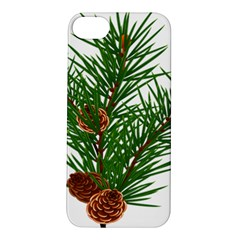 Branch Floral Green Nature Pine Apple Iphone 5s/ Se Hardshell Case
