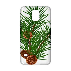 Branch Floral Green Nature Pine Samsung Galaxy S5 Hardshell Case