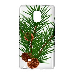 Branch Floral Green Nature Pine Galaxy Note Edge
