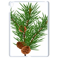 Branch Floral Green Nature Pine Apple Ipad Pro 9 7   White Seamless Case
