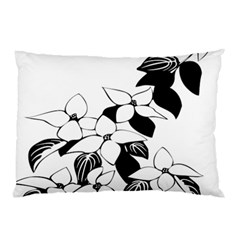 Ecological Floral Flowers Leaf Pillow Case (two Sides)