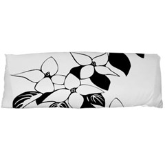 Ecological Floral Flowers Leaf Body Pillow Case Dakimakura (two Sides)