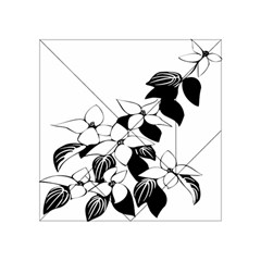 Ecological Floral Flowers Leaf Acrylic Tangram Puzzle (4  X 4 )