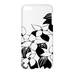 Ecological Floral Flowers Leaf Apple Ipod Touch 5 Hardshell Case