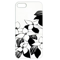 Ecological Floral Flowers Leaf Apple Iphone 5 Hardshell Case With Stand