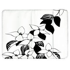 Ecological Floral Flowers Leaf Samsung Galaxy Tab 7  P1000 Flip Case