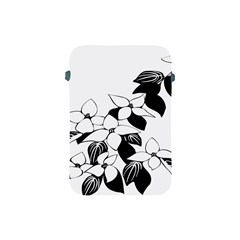 Ecological Floral Flowers Leaf Apple Ipad Mini Protective Soft Cases