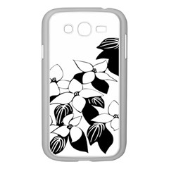 Ecological Floral Flowers Leaf Samsung Galaxy Grand Duos I9082 Case (white)
