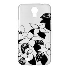 Ecological Floral Flowers Leaf Samsung Galaxy Mega 6 3  I9200 Hardshell Case