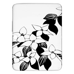 Ecological Floral Flowers Leaf Samsung Galaxy Tab 3 (10 1 ) P5200 Hardshell Case
