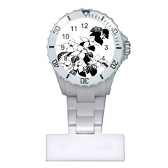 Ecological Floral Flowers Leaf Plastic Nurses Watch