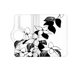 Ecological Floral Flowers Leaf Kindle Fire Hd (2013) Flip 360 Case