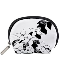 Ecological Floral Flowers Leaf Accessory Pouches (small)