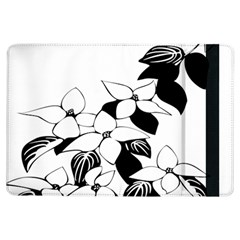 Ecological Floral Flowers Leaf Ipad Air Flip