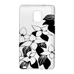 Ecological Floral Flowers Leaf Galaxy Note Edge