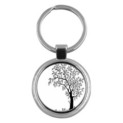 Flowers Landscape Nature Plant Key Chains (round)