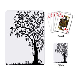 Flowers Landscape Nature Plant Playing Card