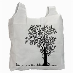 Flowers Landscape Nature Plant Recycle Bag (two Side)