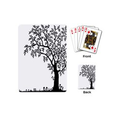 Flowers Landscape Nature Plant Playing Cards (mini)