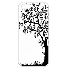 Flowers Landscape Nature Plant Apple Iphone 5 Seamless Case (white)