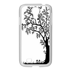 Flowers Landscape Nature Plant Samsung Galaxy S4 I9500/ I9505 Case (white)