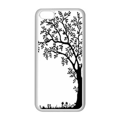 Flowers Landscape Nature Plant Apple Iphone 5c Seamless Case (white)